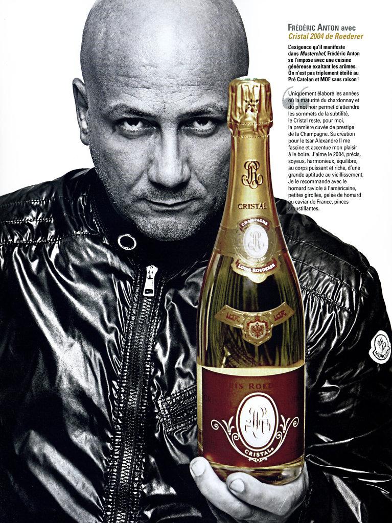 Chefs & champagne - Paris Capitale.