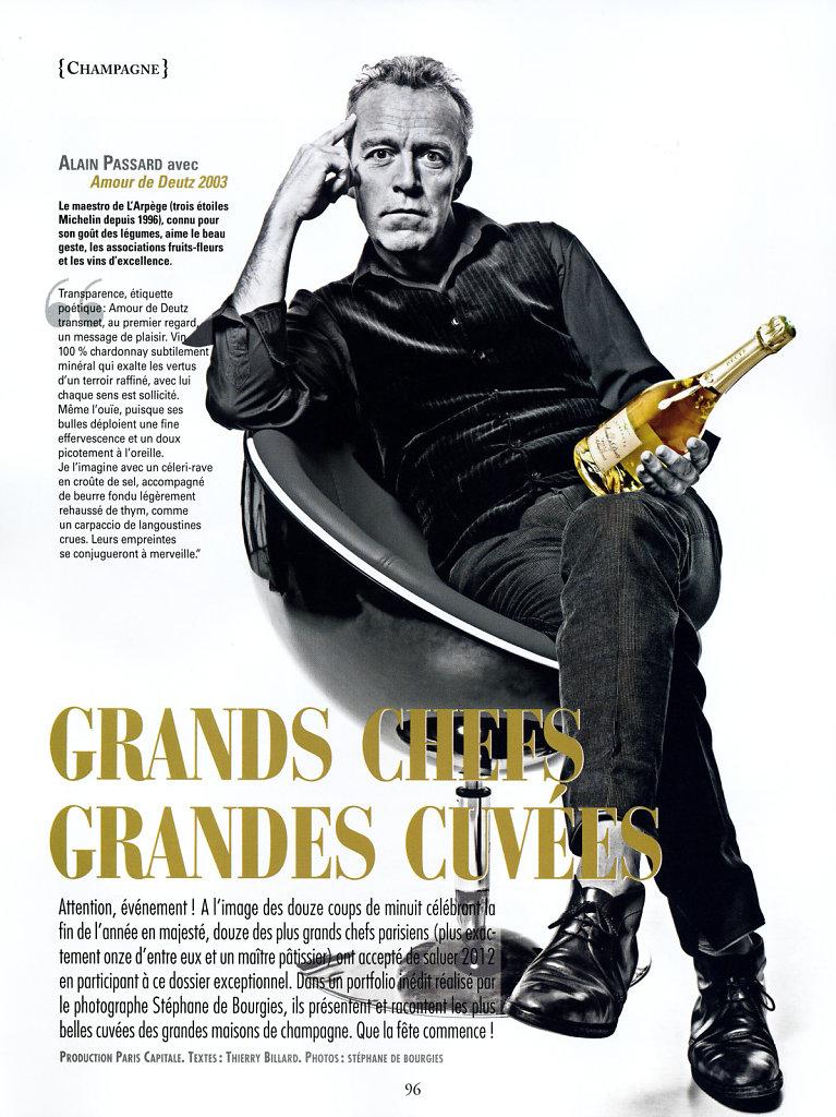 © Stéphane de Bourgies, Alain Passard