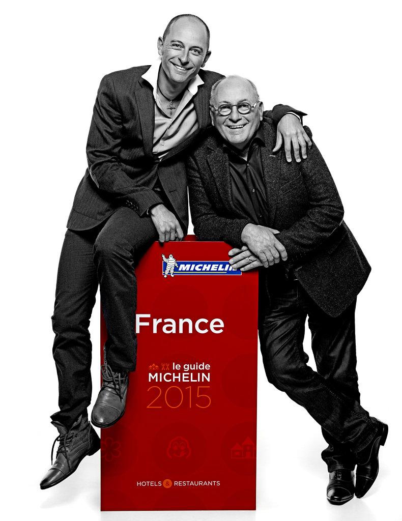 Maxime et René Meilleur, novembre 2015.