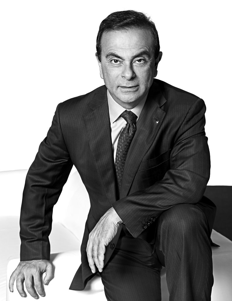 © Stéphane de Bourgies, Carlos Ghosn / janvier 2011
