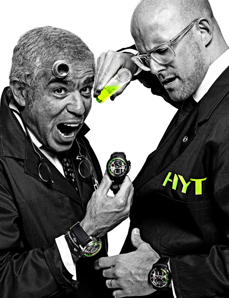 © Stéphane de Bourgies, Laurent Picciotto & Vincent Perriard for Hyt watches