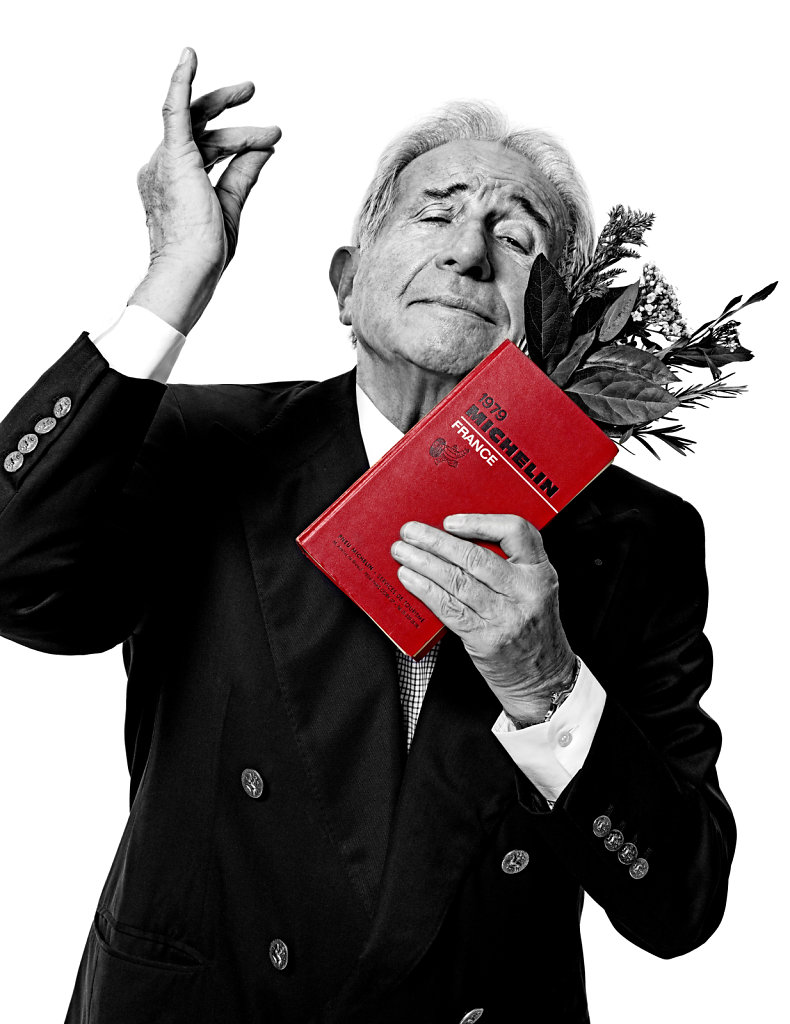 © Stéphane de Bourgies, Michel Guérard, décembre 2015.