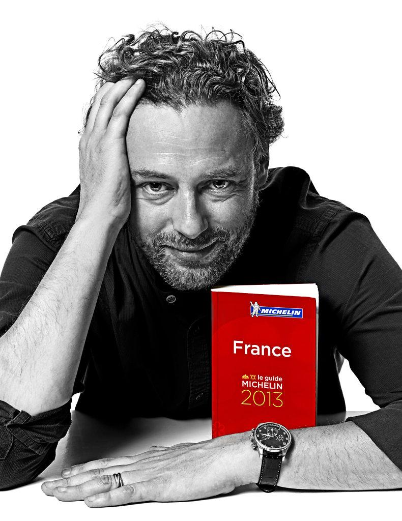Arnaud Donckele, octobre 2015.