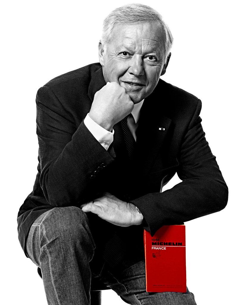 Georges Blanc, décembre 2015.